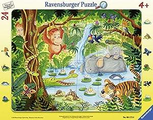 Ravensburger Infantil Puzzle 06171Ravensburger 06171de Sus habitantes de la Selva de niño Puzzle