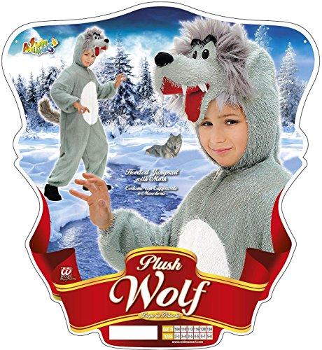 Imagen de widman  disfraz de lobo infantil, talla 3  5 años s/9790o  alternativa