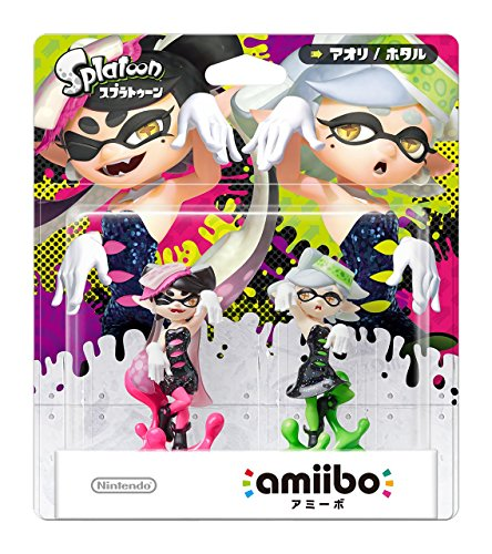Splatoon Amiibo Squid Sisters (Callie und Marie)