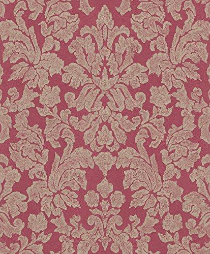 441475 - Belleville Galerie Papel pintado rojo del damasco