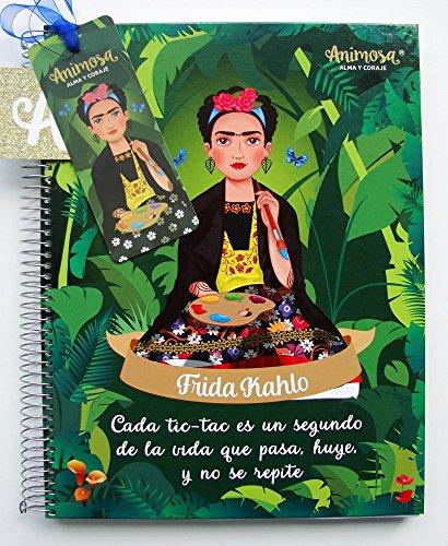 """Libreta grande de Frida Kahlo: """"Cada tic-tac es un segundo de la vida que pasa, huye, y no se repite"""""""
