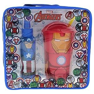 61tBs5qpGCL. SS300  - Avengers Set Eau de Toilette 100 ml, Vaso - 1 pack
