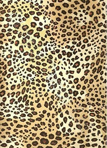 Leopardenmuster Zucker Glasur Blatt ( Ca. 7.5