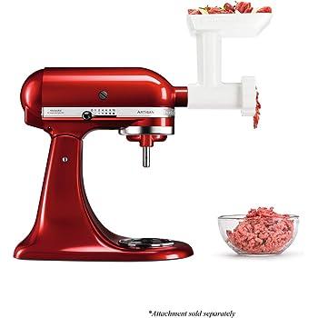 kitchenaid 5fga food grinder white optional accessory for kitchenaid stand mixers rh amazon co uk