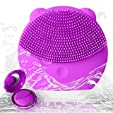 Best Antiaging Cleansers - Facial Cleansing Brush Silicone Waterproof Electric Face Massager Review