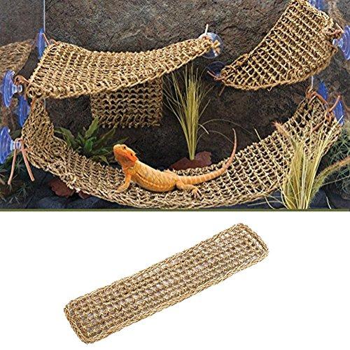 75 * 18cm Lizard Lounger Corner Hängematte für Reptilien Anoles Bärtige Drachen Geckos Leguane -