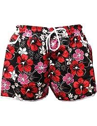 A-Express Femmes Été Plage Surf Floral Fleur Hot Pants Shorts