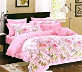 #9: Gifty 150-GSM Polycotton Queen Size Double Fitted Bedsheet with 2 pillow Covers