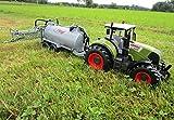 RC Traktor CLAAS Axion 850 mit Anhänger-Fassenanhänger 1:16