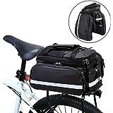 Punvot Fahrradtaschen Gepäckträger Gepäcktaschen für Fahrrad hinten Gepacktraegertasche Reißfeste Gepäcktasche Fahrradtasche