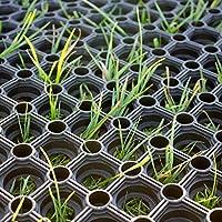 casa pura Heavy Duty Rubber Ring Grass Mat, 22 mm (100 x 150 cm) | Playground Garden Safety Matting | Multiple Size Options