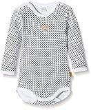 Steiff Unisex Baby Body, Weiß (Bright White), Gr. 0-3 Monate (JHerstellergröße: 56)