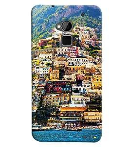 Blue Throat Venice Landscape Printed Designer Back Cover For HTC One Max