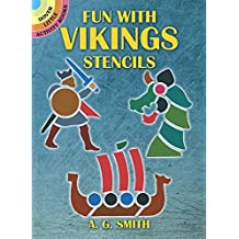 Fun with Vikings Stencils (Dover Stencils) by A. G. Smith (2001-01-17)