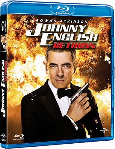 Johnny English Returns (Blu-Ray) (Import) (Keine Deutsche Sprache) (2012) Rowan Atkinson; Rosamund Pi
