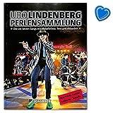 Udo Lindenberg: Perlensammlung 100 Songs mit Melodielinie, Text und Akkorden - Aufwendiges Hardcover - Viele, teilweise unveröffentlichte Fotos - Songbook mit bunter herzförmiger Notenklammer