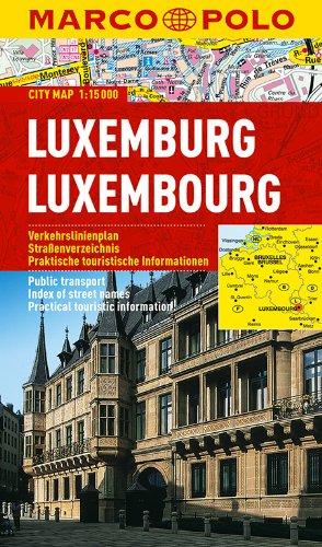 MARCO POLO Cityplan Luxemburg 1:15 000 (MARCO POLO Citypläne)