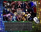 Fate Stay Night Fate Zero Saber Rin Archer Rider, großer Tisch Mauspad (60cmx35cm Anime, (03)