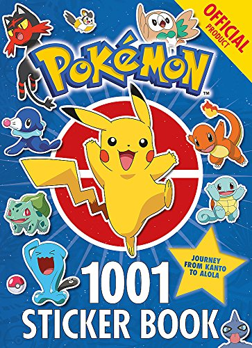 The Official Pokémon 1001 Sticker Book -