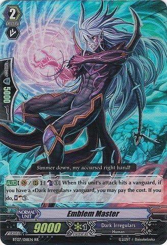 Cardfight!! Vanguard TCG - Emblem Emblem Emblem Master (BT07/018EN) - Rampage of the Beast King by Cardfight!! Vanguard TCG abedeb