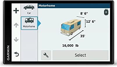 Garmin Camper 770 LMT-D Navigationsgerät (17,7 cm (6,95 Zoll) Multitouch-Glasdisplay, Europa, Fahrspurassistent, Integriertes WLAN) schwarz