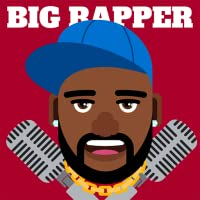 Big Rapper - Flappy Road Rap Grime Artist Arcade: Not Hot Hip Hop Singer Star Collects Gang Bucks