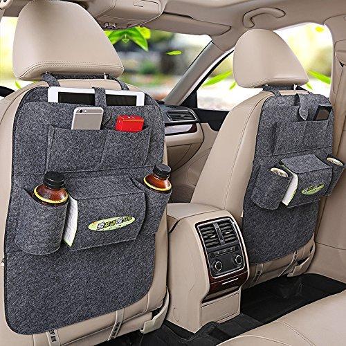Haosen Multifunktionssitzauto Rückentasche des Autositzes mit mehreren taschen Auto-Aufbewahrungsbeutel Autositze Zubehör - Geeignet für 99% der Fahrzeugmodelle