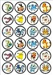 Pokemon Edible PREMIUM THICKNESS SWEE...