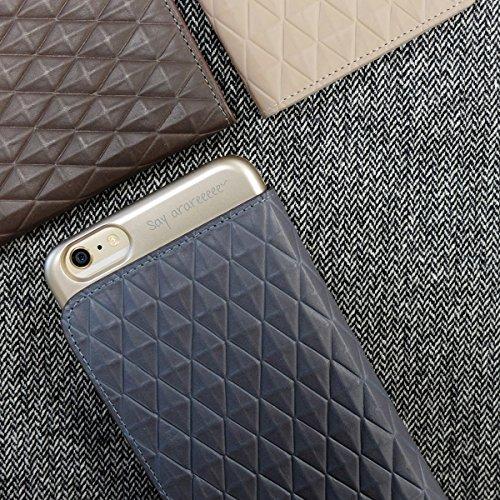 iPhone 6S Plus Fall, araree® [Diamant Cube] Premium Wallet Case Flip Cover Mit Kreditkarte ID Halter für Apple (2015) Mintzfarben