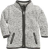 Schnizler Kinder-Jacke aus Fleece, atmungsaktives und hochwertiges Jäckchen mit Reißverschluss
