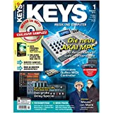 Keys 1 2013 mit DVD - Akai MPC - Software auf DVD - Personal Samples - Free Loops - Audiobeispiele