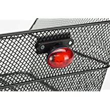 Cicli Bonin JY Rear Attachments Cestino 1 LED 2 Functions Lampes Mixte, Red, Taille Unique