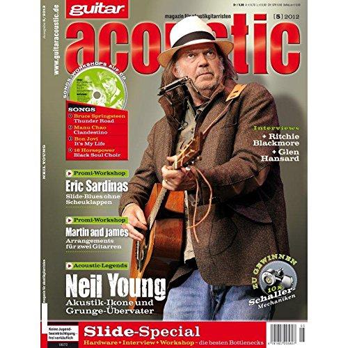 guitar acoustic 5 2012 mit CD - Neil Young - Interviews - Akustikgitarre Workshops - Akustikgitarre Playalongs - Akustikgitarre Test und Technik - Akustikgitarre Noten