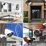 MERSK Hikvision 8CH Turbo HD DVR And Mersk Full HD 2MP CCTV Camera Kit (White)