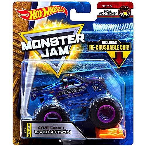 Taz Monster Jam Hot Wheels Monster Truck mit Tattoo (Hot Wheels Tattoos)