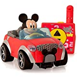 IMC Toys- City Fun Juguete figurina Mickey en su RC Coche, Color Rojo/Negro/Gris, 20 cm (181953)
