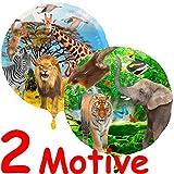 Folienballon * Safari + Wilde Tiere * zum Kindergeburtstag // Folien B