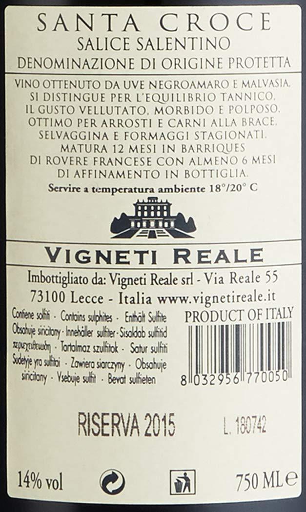 Santa-Croce-Salice-Salentino-Riserva-DOP-Negroamaro-20132014-trocken-6-x-075-l