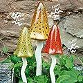 Pötschke Ambiente Keramik-Pilze Zauberwald Herbst, 3er-Set von Pötschke Ambiente bei Du und dein Garten