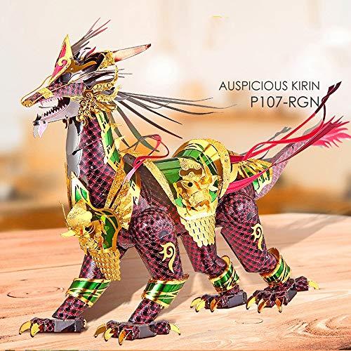 3D Metall Montage Modell handgefertigte Puzzle Spielzeug 3 Blatt Geschenke dekorative Kunsthandwerk -