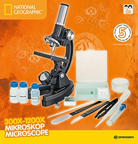 National Geographic Microscope 300x - 1200x with accessories