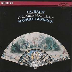 Bach: Cello Suites 2, 3 & ,5