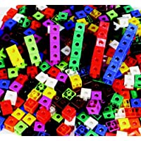 """Childcraft Linking Cubes, 0.75"""", Assorted Colors, Set of 100"""