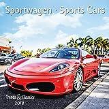 Sportwagen - Kalender 2018 - DuMont-Verlag - Broschurkalender mit Poster und Platz zum Eintragen - 30 cm x 30 cm (offen 30 cm x 60 cm)