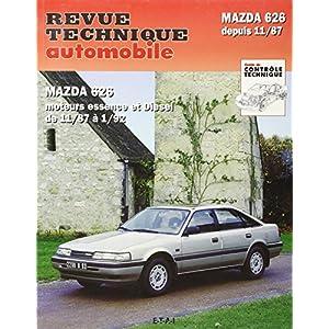Revue Technique Automobile, N° 528.2 Mazda 626 depuis 1988