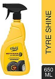 Sepia Wet N Black Tyre Shine (650ml)