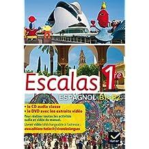 Escalas Espagnol 1re éd. 2015 - Coffret CD audio classe + DVD vidéo