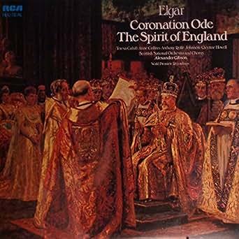 CORONATION ODE AND THE SPIRIT OF ENGLAND LP (VINYL ALBUM) UK RCA 1977