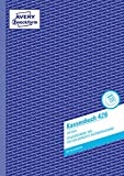 Avery Zweckform 426 - Libro de cuentas para declaración de impuestos (A4, 100 hojas, en alemán), color azul