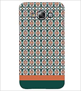 PrintDhaba Pattern D-1430 Back Case Cover for SAMSUNG GALAXY E7 (Multi-Coloured)